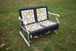 Vintage metal porch glider for Sale in Bunker Hill, WV