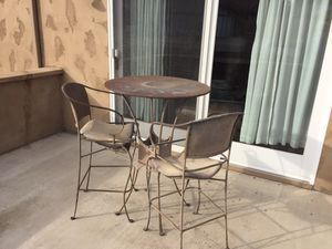 Wrought iron Patio table for Sale in Lakeside, CA