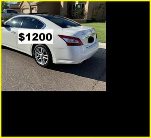 $1200 Nissan MAxima for Sale in Raleigh, NC