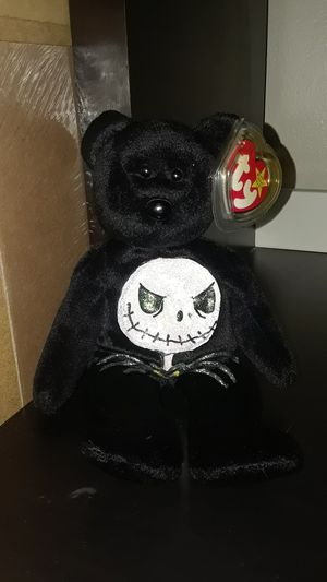 Nightmare before Christmas TY beanie baby plush Jack skellington for Sale in El Cajon, CA