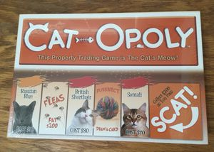 Catopoly board game like Monopoly brand New sealed for Sale in Cleveland, OH