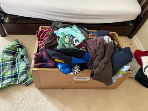 Box of 18 month boy clothes for Sale in Algona, WA