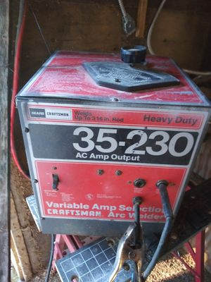 120 to 240 230 amp ac welder for Sale in Galt, CA