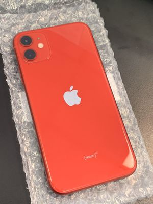 Unlocked iPhone 11 RED 64GB for Sale in North Providence, RI