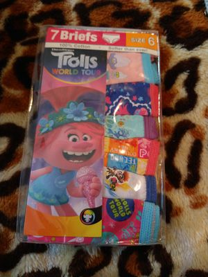 Brand new trolls underwear for Sale in Tacoma, WA