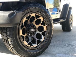 Jeep off road wheels for Sale in Dallas, TX