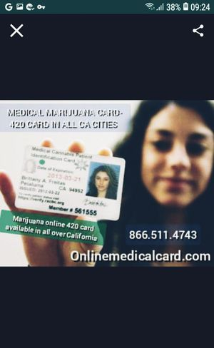 ✔️hey Getting medical online card available in all over California for Sale in Santa Ana, CA