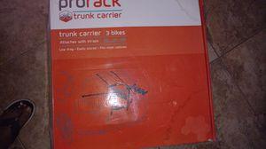 Pro-form 3 bike trunk carrier for Sale in Gonzales, LA