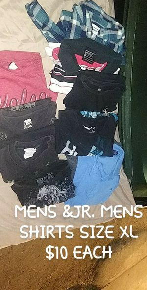 jr.mens and mens shirts xlarge for Sale in Fresno, CA