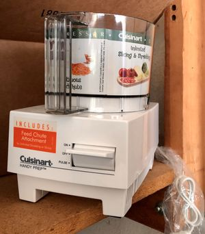 Cuisinart Handy Prep Food Processor, Brand New, *No Lid for Sale in Laguna Beach, CA