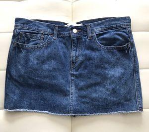 Levi's Women's Denim Jeans Skirt Blue Size 13 for Sale in Las Vegas, NV