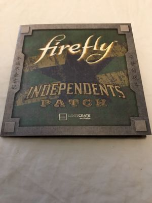 NEW Loot Crate exclusive Firefly patch for Sale in Coral Gables, FL