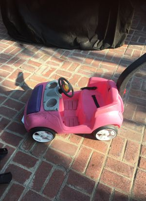 Pink Push car 10 for Sale in Whittier, CA