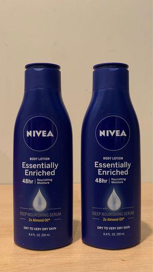Nivea body lotion 8.4 oz for Sale in Alexandria, VA