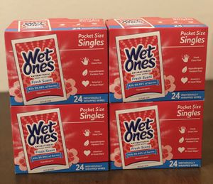 Wet Ones Antibacterial Hand Wipes 🌸🖐🏻 for Sale in Union City, CA