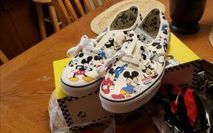 Vans size 13 mens Mickey mouse shoes for Sale in Palmdale, CA