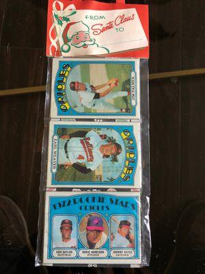 Uncut origins Christmas 1972 Orioles baseball pack 12 cards mint! for Sale in Rancho Santa Margarita, CA