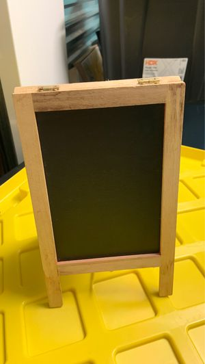 Mini easel- has chalkboard and dry erase side! for Sale in Chesapeake, VA