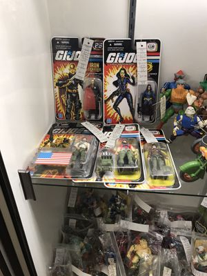 GI Joe 25th Anniversary Action Figures for Sale in Santa Ana, CA
