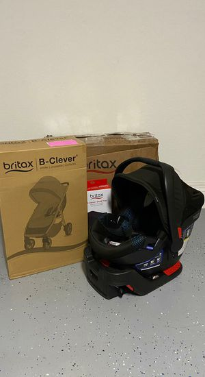 Britax B-Clever Lightweight Stroller B-Safe 35 Infant Car Seat Travel System BRAND NEW IN BOX for Sale in Peoria, AZ