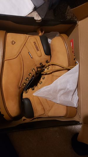 Wolverine men's floorhand 6inch waterproof soft toe-M work boot. 10.5 3E. for Sale in Brick Township, NJ