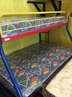 Bunky bed up twin down full new never used for Sale in Nashville, TN