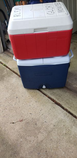 2 coolers for Sale in Herndon, VA