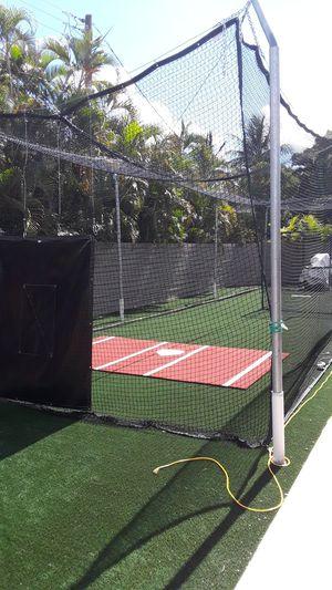 Professional baseball/softball batting cage for Sale in Palm Springs, FL