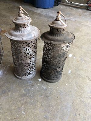 """Outdoor candle holders approx 24"""" tall for Sale in Austin, TX"""