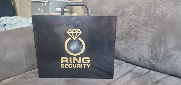 Ring Bearer Ring Security Briefcase