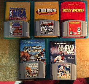 Nintendo 64 Game Lot for Sale for sale  Old Bridge, NJ