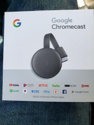 Google chromecast, new in box. for Sale in Boca Raton, FL