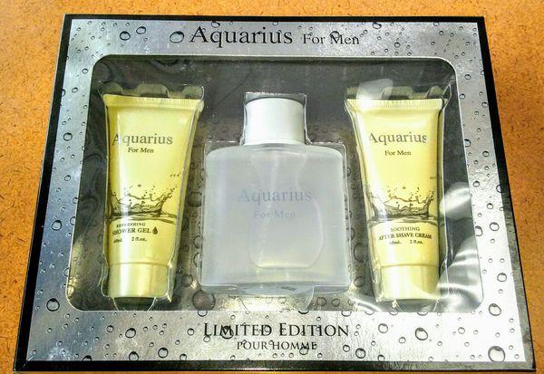 Aquarius For Men Cologne Gift Set - NEW IN BOX