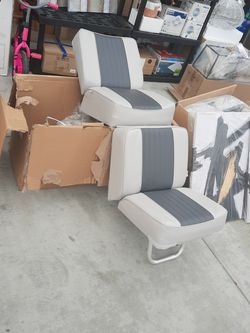 Wise Boat Seats Gray /charcoal for Sale in Visalia,  CA