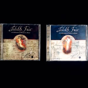 📀 2 Lilith Fair CDs: A Celebration of Women in Music Volume 2 & 3 for Sale in Big Bear, CA