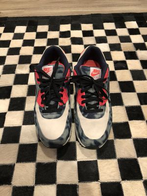 """Nike Air Max 90 """"Washed Denim"""" Size 9.5. Worn 2x. No box for Sale in Farmingdale, NY"""