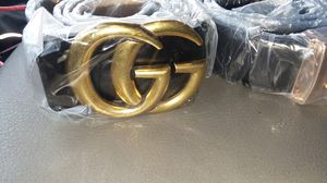2 gucci belts no original brand new neve used price for both or separate for Sale in Kansas City, MO