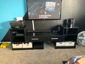 3 piece tv stand for Sale in Los Angeles, CA