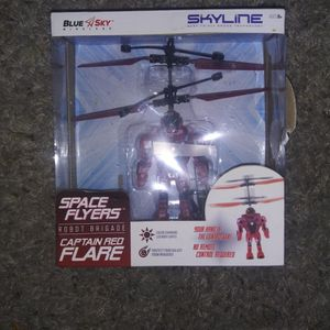 """Space Flyers Hovering Robot """"Captain Red"""" for Sale in Albuquerque, NM"""