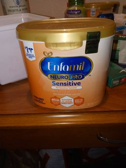 Brand New Enfamil Sensitive 19.5oz Containers for Sale in Santa Ana, CA