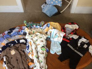 Newborn boy clothes for Sale in Worcester, MA