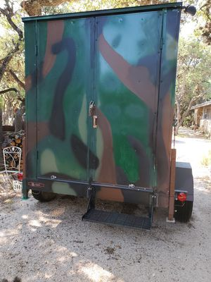 Toy Hauler Deer Blind Camper for Sale in Canyon Lake, TX