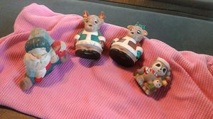 4 Xmas figurines for Sale in Linden, PA