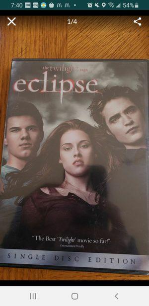Peoria az New Sealed plastic DVD the Twilight Eclipse saga please read description for pick up location options for Sale in Sun City, AZ