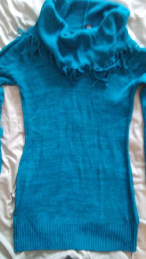 Blue med sweater dress for Sale in San Marcos, TX
