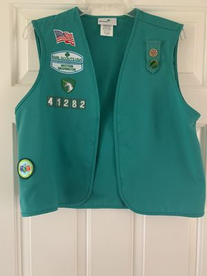 Girl Scout vest for Sale in Newcastle, WA