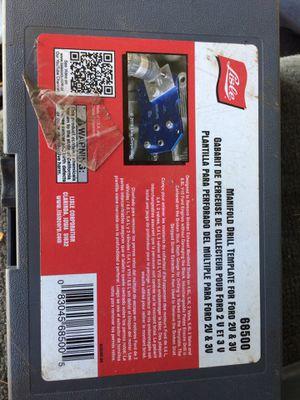 Manifold drill template ford 2v 3v for Sale in South Burlington, VT