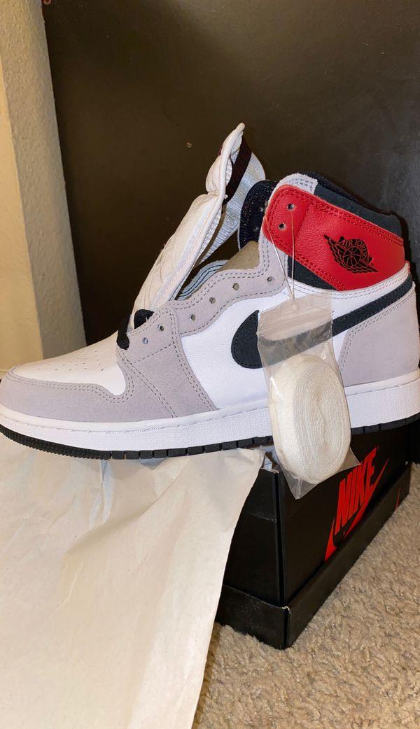 Jordan 1 smoke grey size 6.5