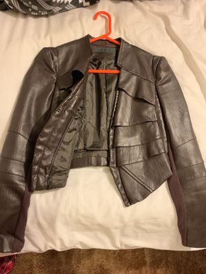 Dark Brown leather jacket for Sale in Sanger, CA