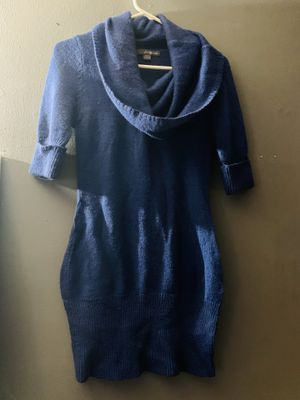 Navy blue warm dress for Sale in Paramount, CA